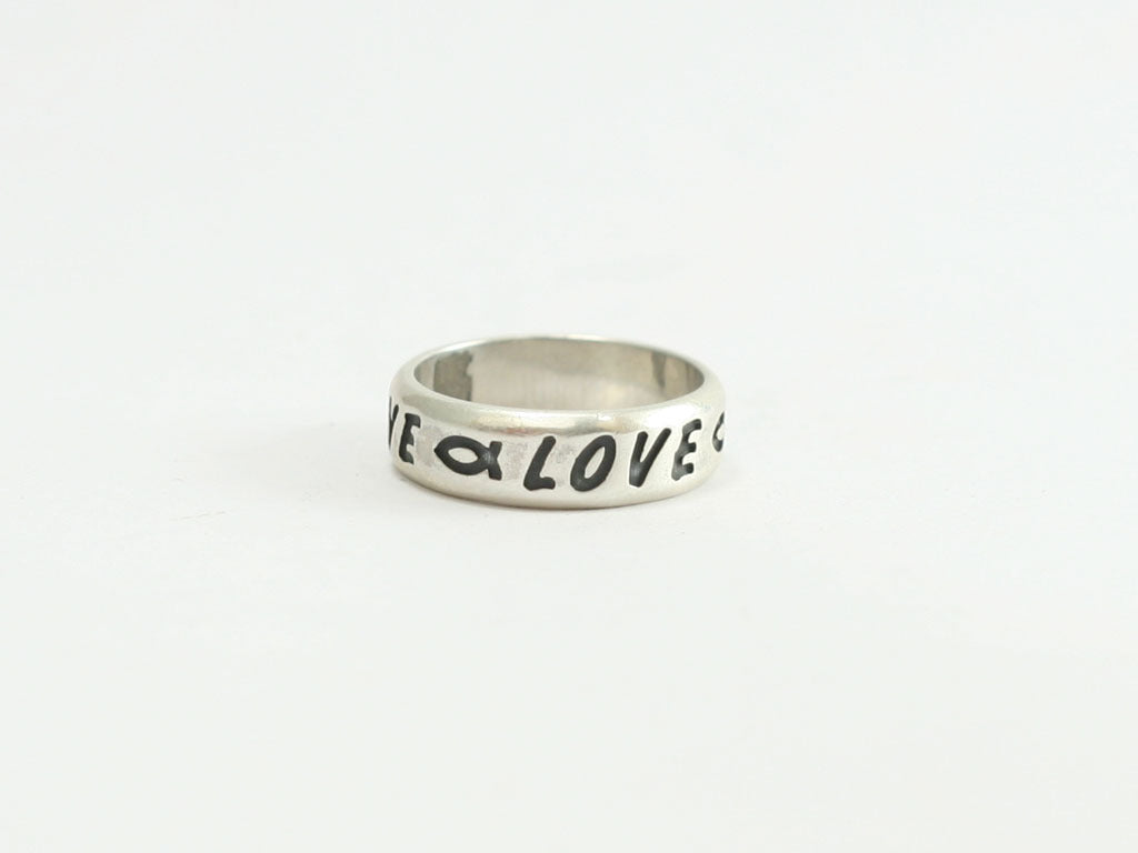 Sterling Love / Fish Symbol Ring