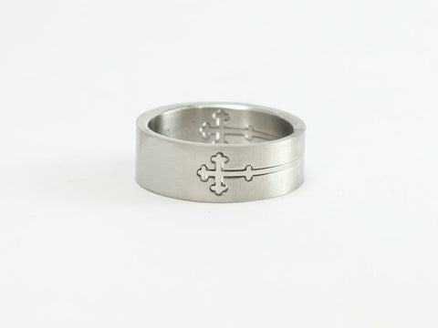 Puzzle Cross Ring