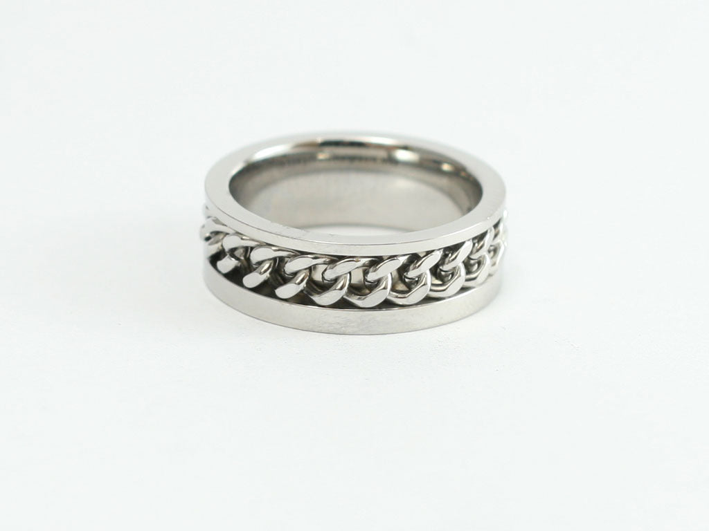 Philippians 1:13 Stainless Chain Ring