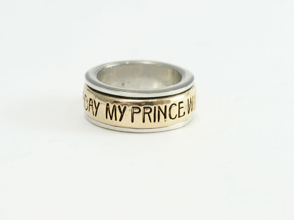 My Prince Will Come Spinner Ring