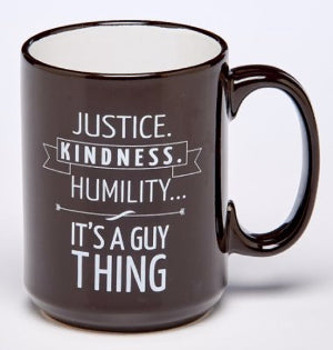 Justice and Humility Ceramic Cup