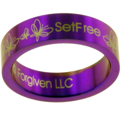 Set Free Christian Ring