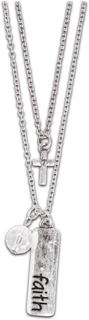Crown Jewel Woman's Faith Necklace