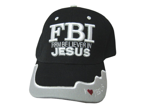 FBI - Firm Believer in Christ Cap/Hat
