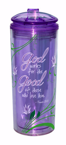 God Works for the Good Tumbler