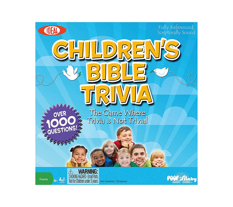 Children's Bible Trivia Game