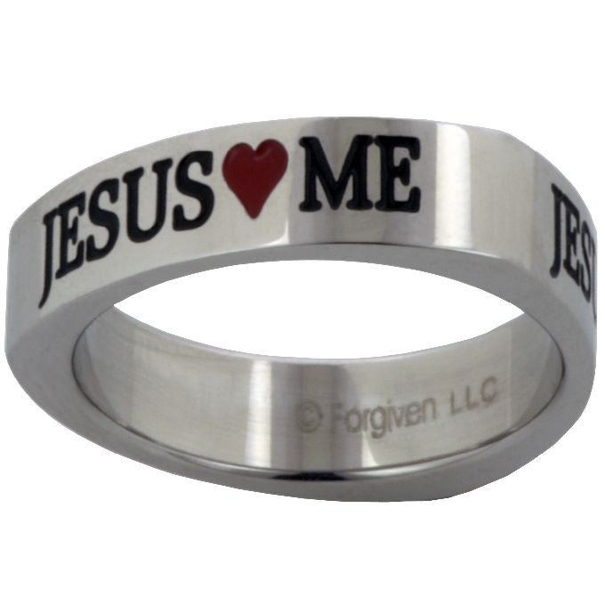 Jesus Loves Me Ring