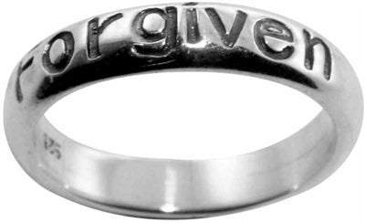 Forgiven STERLING Ring