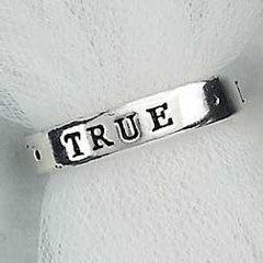 True Love Waits Sterling Purity Ring