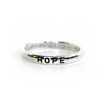 Hope Christian Ring