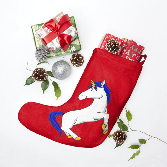 Fletcher the Unicorn Christmas Stockings