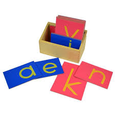 What are Montessori sandpaper letters? What is the purpose of sandpaper?