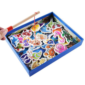 32pcs Magnetic Fishing Educational Game
