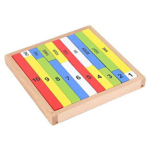 Montessori Early Learning Maths Puzzle Toy 1-10