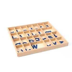 Wooden Alphabet Box