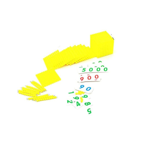 Montessori Decimal Base Bank Game Maths Training