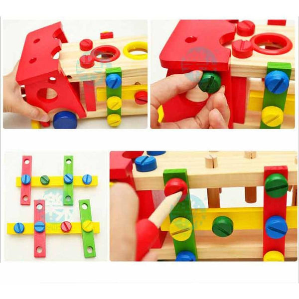 Kids DIY Wooden Truck Assembly Kit