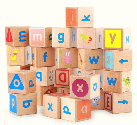 26 PC Educational Wooden Alphabet Set