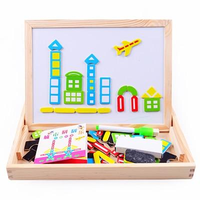 Children's Educational Wooden Drawing Board