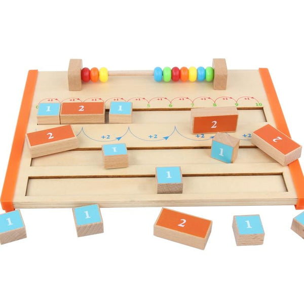 Children's 1-10 Wooden Arithmetic Board