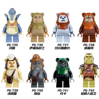 Ewok 8 Figure Set