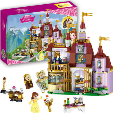 Princess Belles Enchanted Castle Building Blocks 379 Pieces