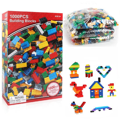 Building Blocks 500-1,000 Pieces