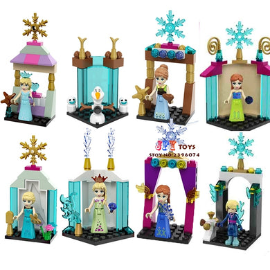 Princess Frozen 8 Figure Set