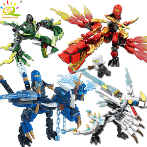 Ninja Dragon Knight Building Blocks