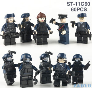 SWAT Team City Police Set