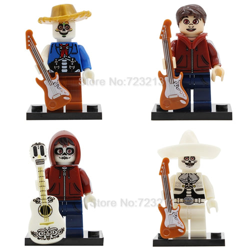 Coco Movie 4 Figure Set