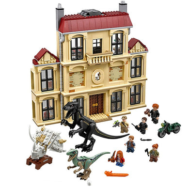 Jurassic World 2 Dinosaur Indoraptor Rampage At Lockwood Estate Building  1046 Piece Set