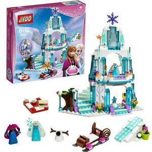 Dream Princess Castle Elsa Ice Castle Princess Anna Set 316 Pieces