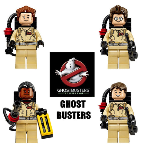 Ghostbusters 4 Figure Set