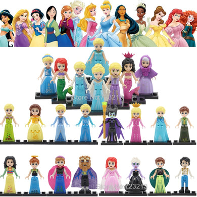 Princess 8 Figure Set