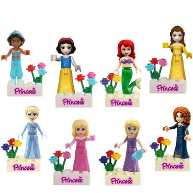 Fairy Tale Princess 8 Figure Set