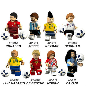 2018 World Cup Soccer Figures