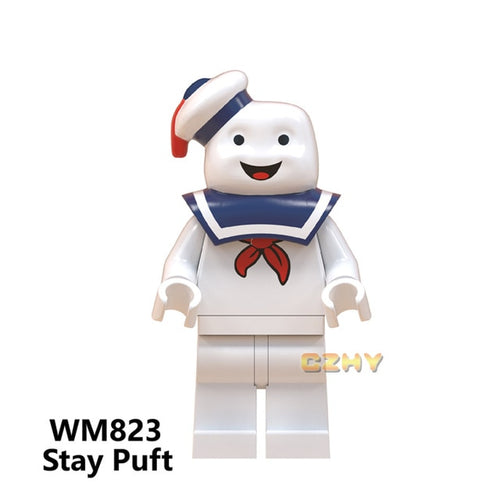 Stay Puft Marshmello Man