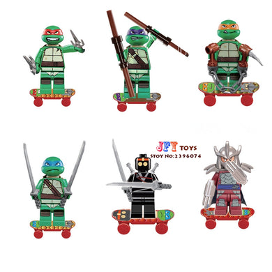 Teenage Mutant Ninja Turtles 6 Figure Set