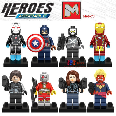Superhero Set 8 Figures
