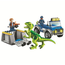 Load image into Gallery viewer, Jurassic World Velociraptor Raptor Rescue Truck