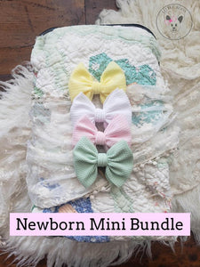 Newborn Mini Bow Bundle