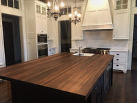Walnut Countertop Kitchen Island Top - Solid Wood Butcher Block - Various Colors and Size - Online Wood Worker