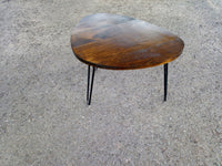 Coffee Table retro Rustic mid century modern with Hairpin Legs Offered in several colors - Online Wood Worker