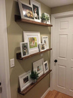 floating Picture ledge shelf photo ledge shelf decor ledge shelf Offered in several colors (MED) - Online Wood Worker