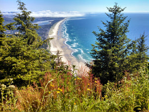 Pacific Ocean on the Oregon Coast from Neahkahnie Mountain