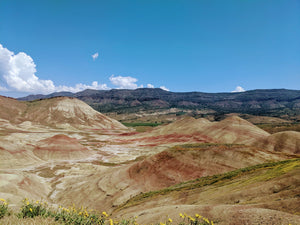 The Painted Hills are one of the Seven Wonders of Oregon