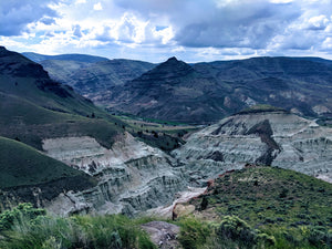 Blue Basin trail of the Sheep Rock unit in Oregon's John Day Fossil Beds National Monument