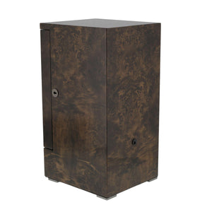 DUAL AUTOMATIC WATCH WINDER DARK BURL WOOD FINISH TOWER SERIES BY AEVITAS - Winder World