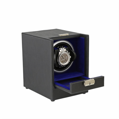 Aevitas Black Leather Watch Winder